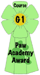 Pet Paw Award